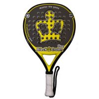Pala de padel Black Crown Boa