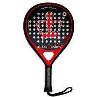 Pala de padel Black Crown Rhino