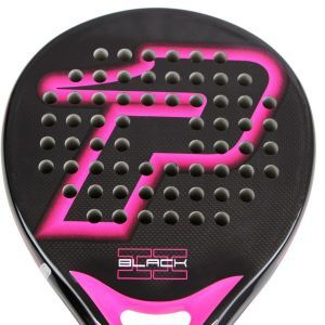 Power Padel Black Brillo Fucsia