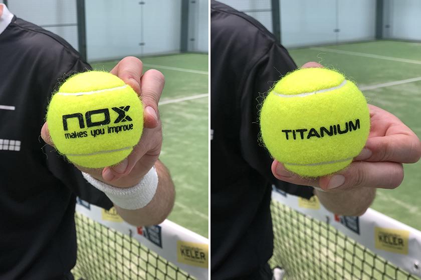 Pelotas de pádel Nox Pro Titanium, estética y peso - foto 3