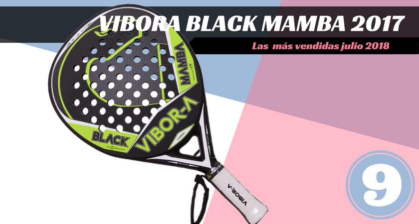 Las  10 palas de pádel más vendidas del mes de julio 2018 - Vibora Black Mamba 2017