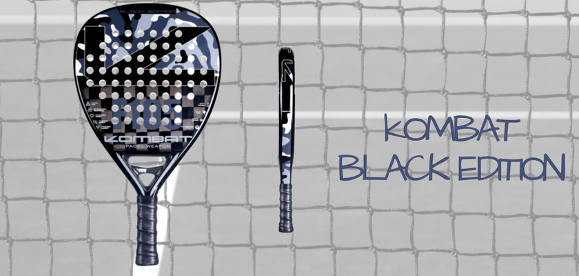 Las 4 mejores palas de pádel de Kombat Padel, Kombat Black Edition