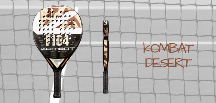 Las 4 mejores palas de pádel de Kombat Padel, Kombat Desert