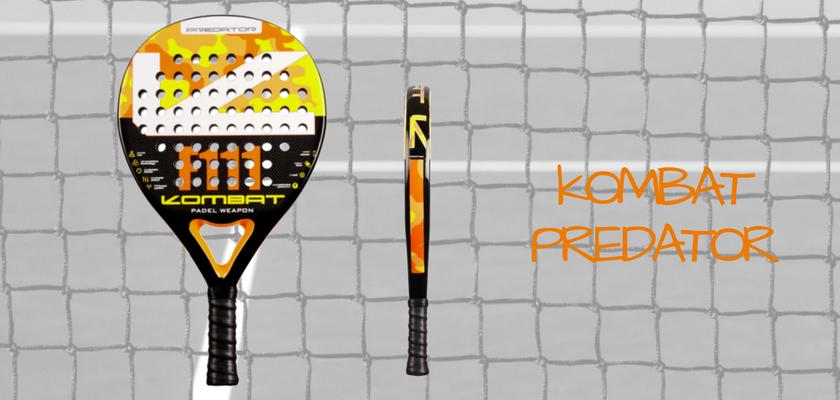 Las 4 mejores palas de pádel de Kombat Padel, Kombat Predator