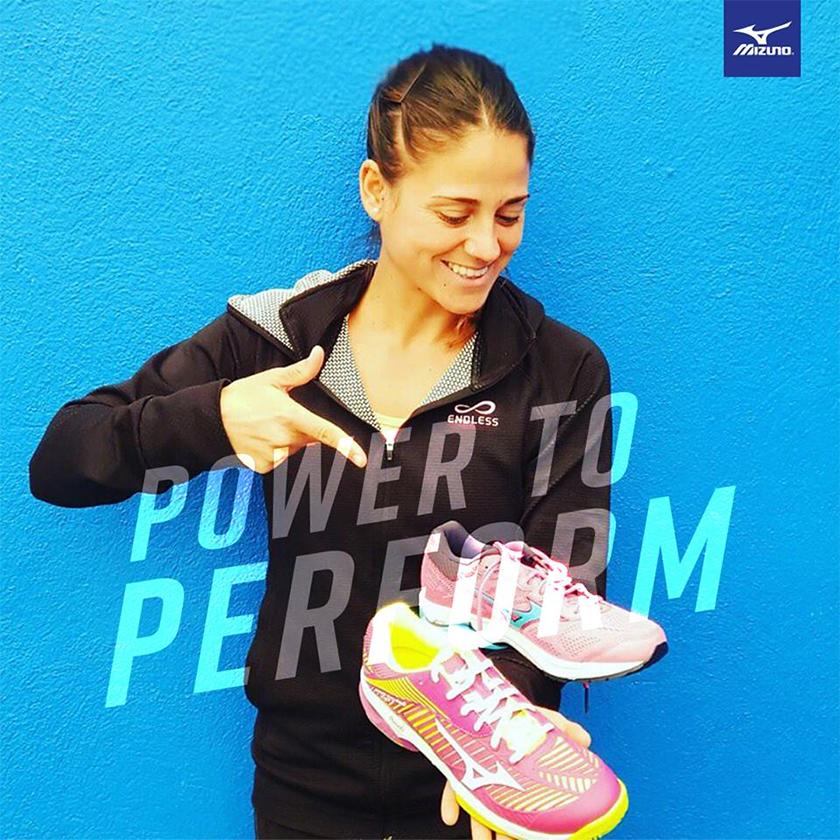 Mizuno Exceed Tour 3, las zapatillas de pádel de Mari Carmen Villalba, jugadora del WPT - foto 1