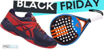 Black Friday 2018 en palas y zapatillas de pádel: ¡Las primeras ofertas disponibles!
