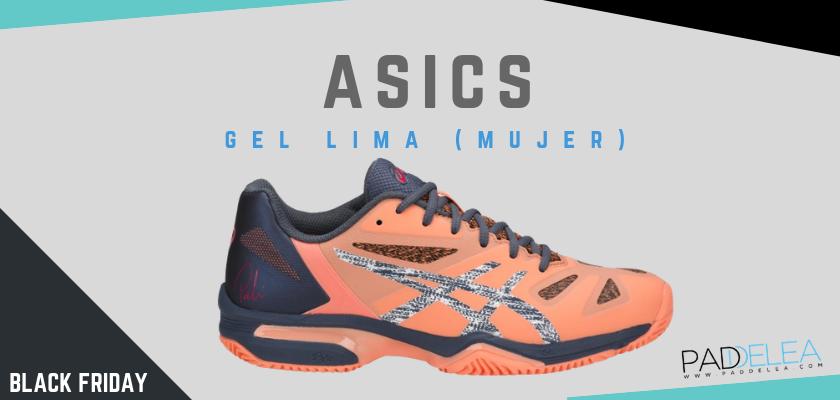 Black Friday Zapatillas de padel 2018, las 8 mejores ofertas que no puedes dejar escapar, Asics Gel Lima Padel (mujer)