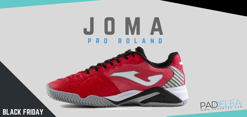 Black Friday Zapatillas de padel 2018, las 8 mejores ofertas que no puedes dejar escapar, Joma Pro Roland