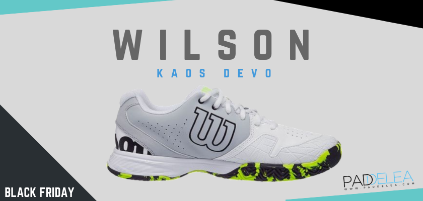 Black Friday Zapatillas de padel 2018, las 8 mejores ofertas que no puedes dejar escapar, Wilson Kaos Devo