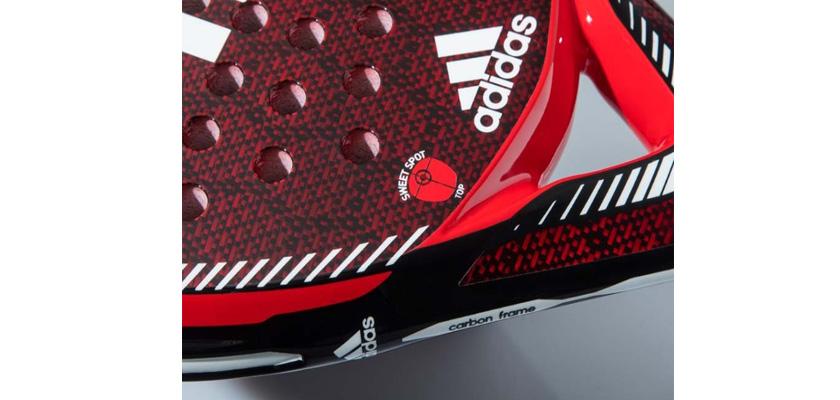Adidas Carbon ATTK 1.9, punto dulce
