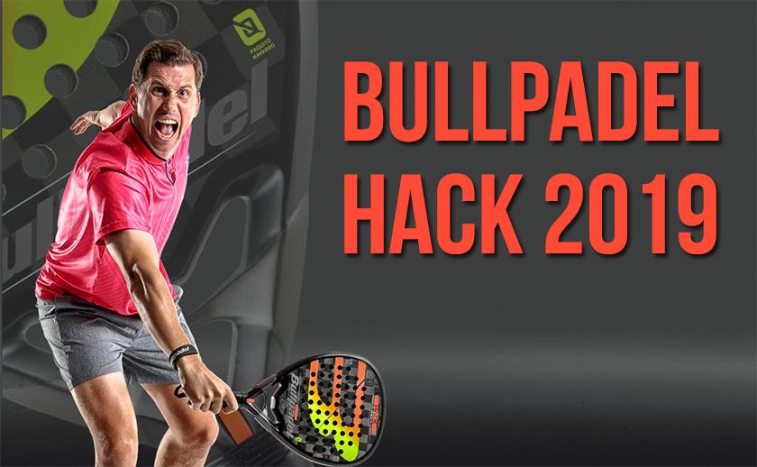 Bullpadel Hack 2019, características y novedades - foto 1