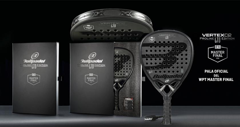 Bullpadel Vertex 02 Master Final LTD. Edition, características y composición - foto 1