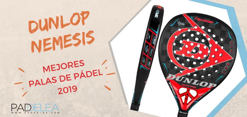 Mejores palas de pádel 2019 - Dunlop Nemesis