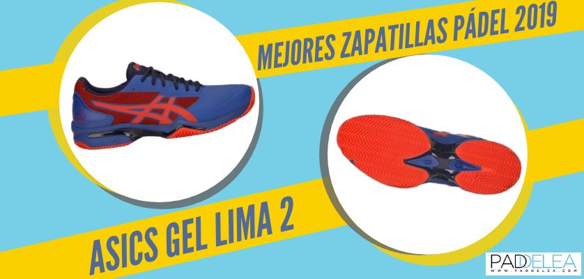 Mejores zapatillas de pádel 2019 - ASICS Gel Lima 2