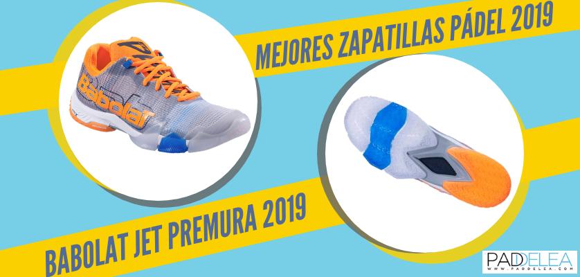 Mejores zapatillas de pádel 2019 - Babolat Jet Premura 2019