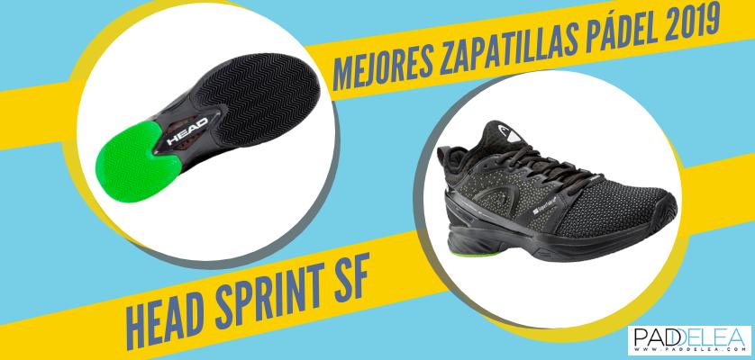 Mejores zapatillas de pádel 2019 - Head Sprint SF