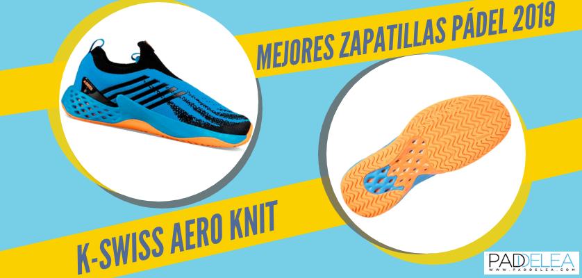 Mejores zapatillas de pádel 2019 - K-Swiss Aero Knit