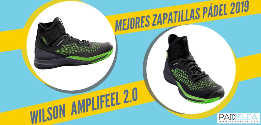 Mejores zapatillas de pádel 2019 - Wilson Amplifeel 2.0