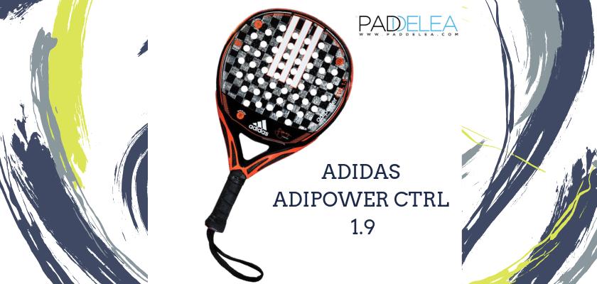 Las mejores palas de pádel de control 2019, Adidas Adipower CTRL 1.9