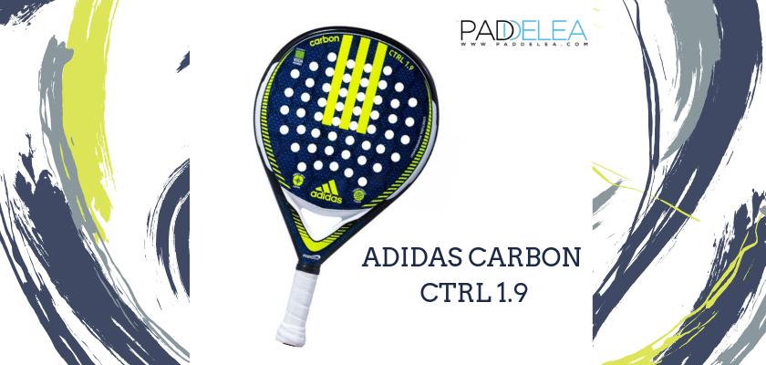 Las mejores palas de pádel de control 2019, Adidas Carbon CTRL 1.9