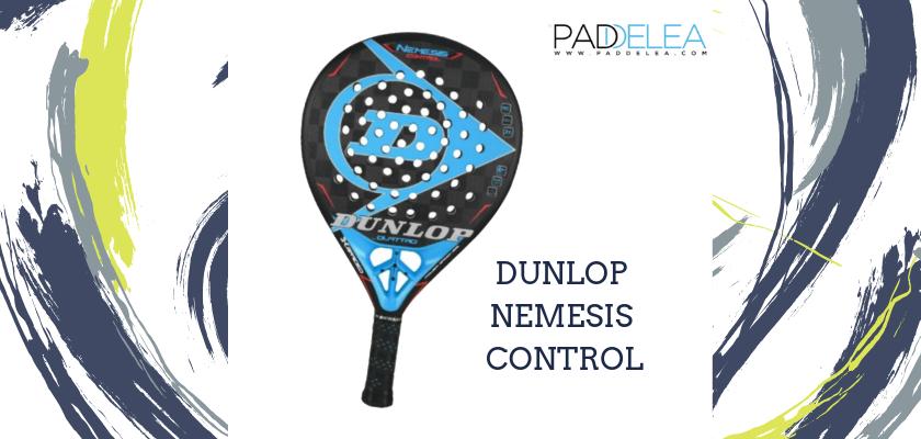 Las mejores palas de pádel de control 2019, Dunlop Nemesis Control