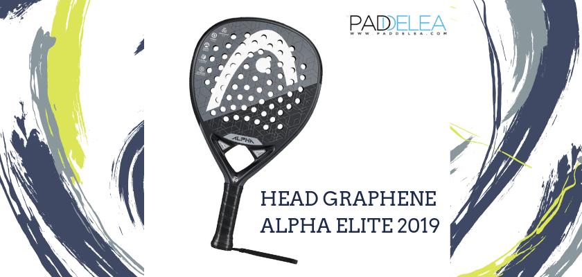 Las mejores palas de pádel de control 2019, Head Graphene Alpha Elite 2019