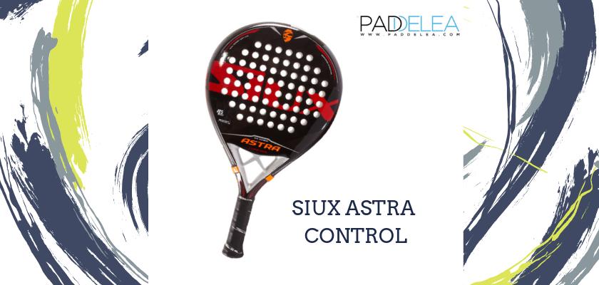 Las mejores palas de pádel de control 2019, Siux Astra Control