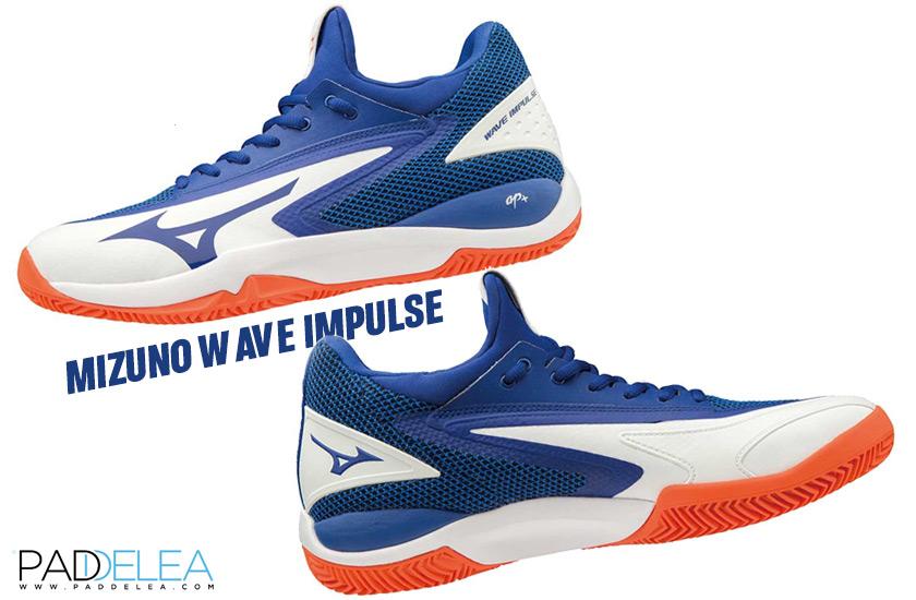 Características de las Mizuno Wave Impulse, diseño - foto 2